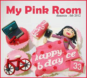 My Pink Room - Cake by Diana
