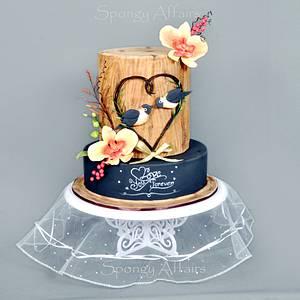Love You Forever! - Cake by Meenakshi Jamadagni