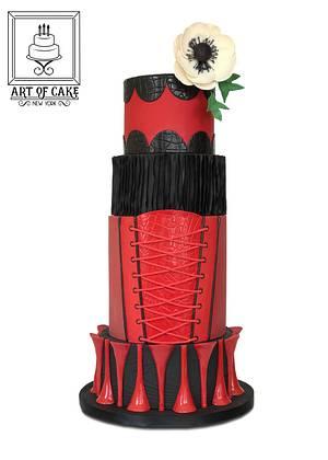 Kinky Boots Inspired - My NY Cake Show Entry - Cake by Akademia Tortu - Magda Kubiś