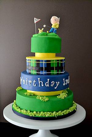 The Sugar Nursery's Golf Cake - Cake by The Sugar Nursery - Cake Shop & Imaginarium