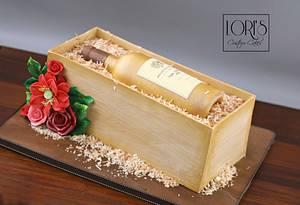 Wined and dined  - Cake by Lori Mahoney (Lori's Custom Cakes)