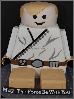 LEGO Luke Cake  - Cake by It's a Cake Thing