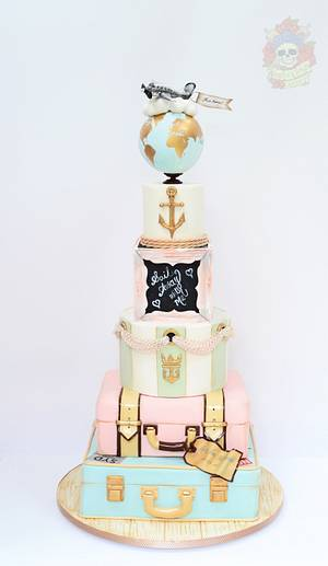 Sail away with me.... - Cake by Karen Keaney