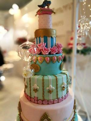 My marieantoniette cake  - Cake by Majoieta CD