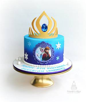 Frozen Forever - Cake by Cakes by Design