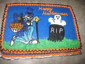 Halloween cake - Cake by cher45