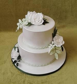 Wedding cake - Cake by MoMa