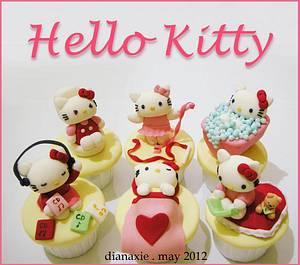 Hello Kitty - Cake by Diana