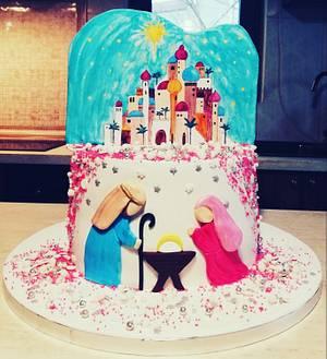 Betleem scene  - Cake by Torturi de poveste