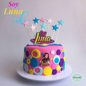 Torta de Soy Luna en Medellín - Cake by Dulcepastel.com