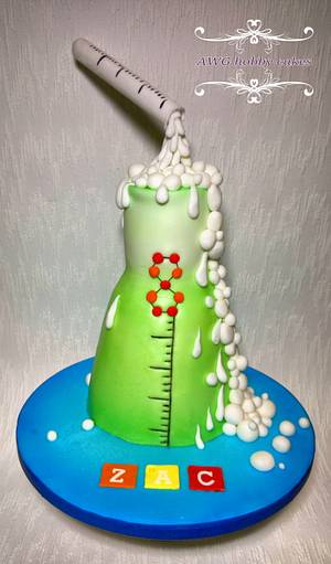 Science birthday for Zac (my son) - Cake by AWG Hobby Cakes