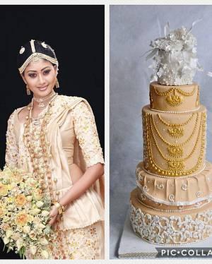 Beautiful Srilanka-Cake collaboration  - Cake by Divya iyer