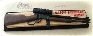Henry Lever Rifle - Cake by AlwaysWithCake