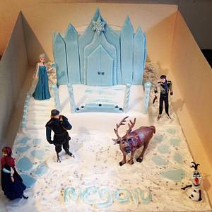 Frozen for Megan  - Cake by Marie