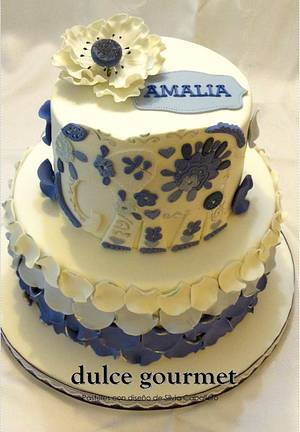 Amalia´s elephant - Cake by Silvia Caballero