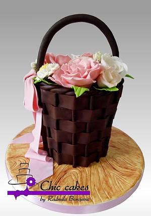 Cake for Mom's birthday - Cake by Radmila