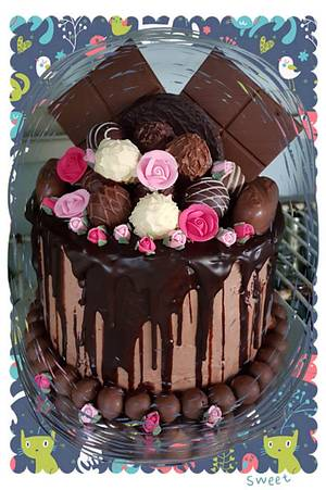 Chocolate Overload  - Cake by Vicky