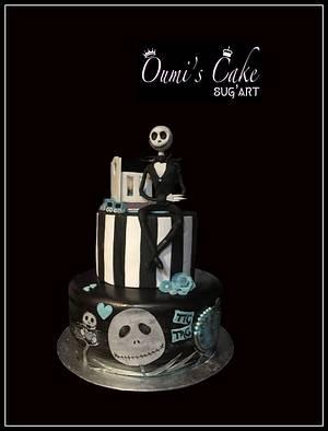 Jack Skellington Baby Shower - Cake by Cécile Fahs