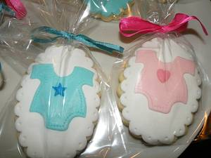 Baby shower cookies - Cake by bolosdocesecompotas