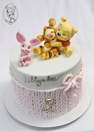 winnie the pooh - Cake by grasie
