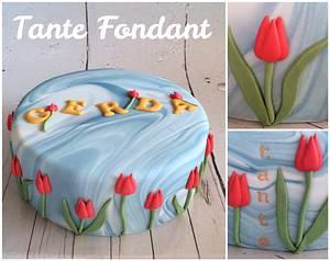 Dutch Birthday Glory - Cake by Tante Fondant