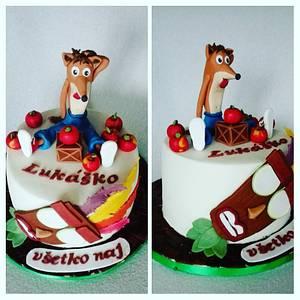 Crash bandicoot - Cake by Anka
