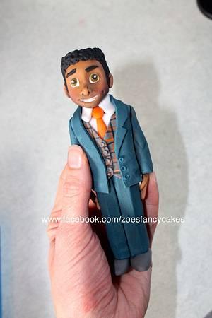 Male figure - Cake by Zoe's Fancy Cakes