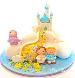 No Prayer is too Small :) - Cake by ReemFadelCakes