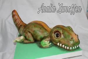 Cake Rex  - Cake by Analia Zumoffen