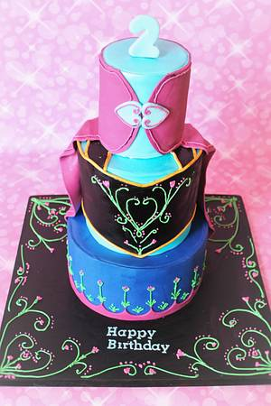 Anna (Frozen cake) - Cake by Not Your Ordinary Cakes