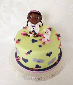 Doc. McStuffins - Cake by Kateřina Lončáková