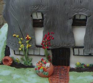 Beam Cottage Cake - Cake by Fifi's Cakes