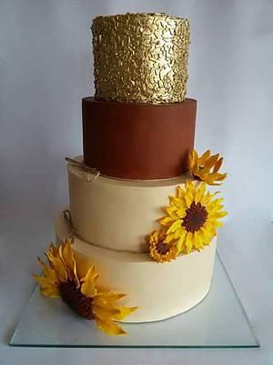 Wedding cake - Cake by Milica