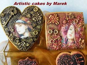 Vintage cookies - Cake by Marek