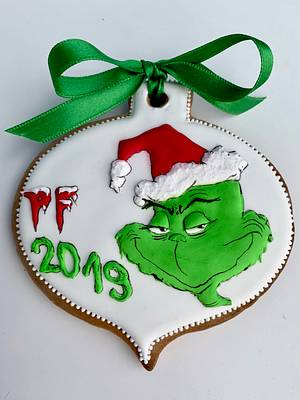 The Grinch PF 2019 - Cake by Andrea