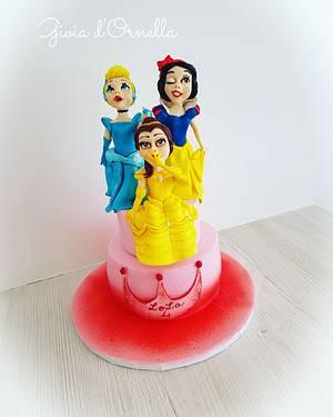 Princess cake ☆ - Cake by Ornella Marchal