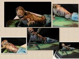 The Walking Dead Zombie  - Cake by Symphony in Sugar