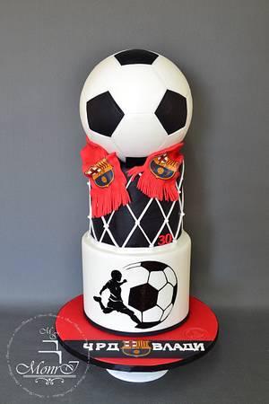Sport cake - Cake by Mina Avramova