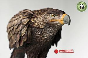 Spanish Imperial Eagle (Bakers Unite to Fight collab) - Cake by Tartas Imposibles