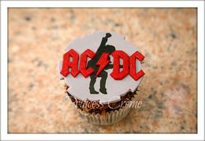 ACDC cupcakes - Cake by Princess Crème