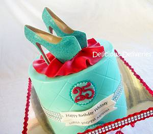 Shoe Diva Cake - Cake by DeliciousDeliveries