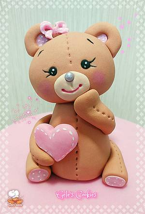 Lovely bear - Cake by Gele's Cookies