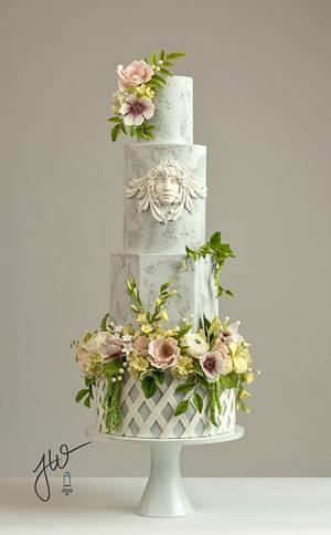 Garden Angel - Cake by Jeanne Winslow