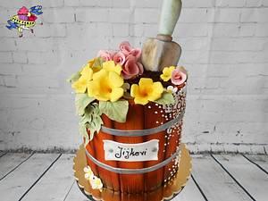 Flower Box - Cake by Petra Krátká (Petu Cakes)