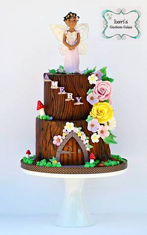 Fairy Amery :)  - Cake by Lori Mahoney (Lori's Custom Cakes)