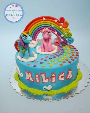 My litle pony cake - Cake by Dzesikine figurice i torte