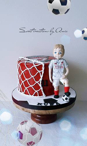 Liverpool cake - Cake by Ania - Sweet creations by Ania