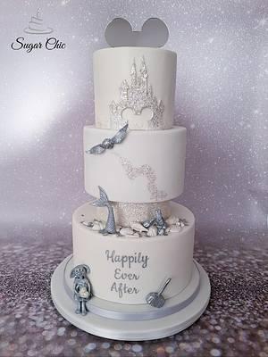x Magical Kingdom Wedding Cake x - Cake by Sugar Chic