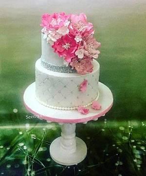 Wedding Cake  - Cake by Seema Tyagi