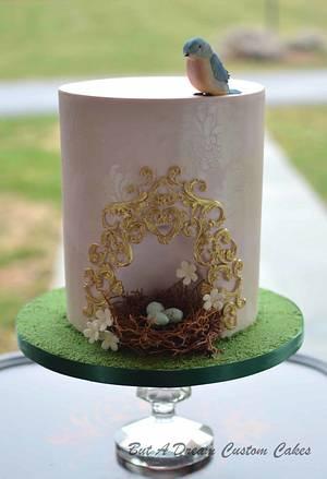 Birds Nest Cake - Cake by Elisabeth Palatiello